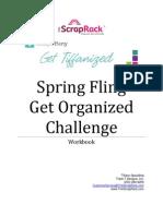 2013 Get Organized Challenge Workbook