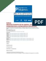 Índices - Índices de los PDFs - Derechos humanos de las mujeres, normativa, interpretaciones y jurisprudencia internacional