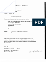 T2 B21 Lederman- Open Sources 2 of 2 Fdr- 4 Withdrawal Notices- Memos Re FBIS- Report on OSINT 785