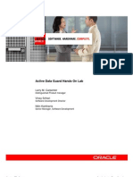Active Data Guard Hands on Lab