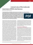 2.Molecular machinery of RNA interference