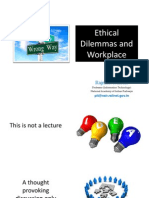 Rajnish Kumar on Ethical Dilemmas and Workplace