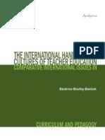 International Handbook of Cultures of Teacher Education(1)