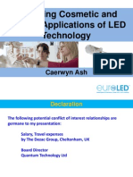 Emerging Cosmetic and Medical Applications of LED Technology - Caerwyn Ash