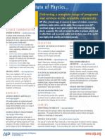 A Ip Services Sheet