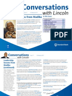 Conversations With Lincoln Issue 71 - Leadership Lessons From Madiba