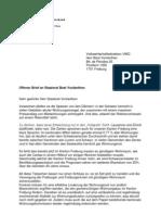 Offener Brief Vonlanthen
