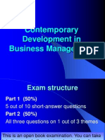 CDBM Exam Review Hints
