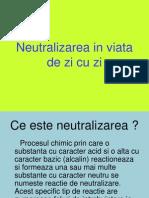 Neutralizarea