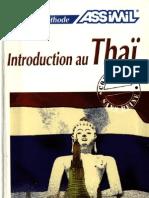 Introduction au Thaï