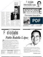 Versión impresa del periódico El mexiquense  28 junio 2013