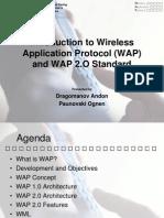 Introduction to Wireless Application Protocol (WAP)OGI