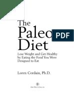 Loren Cordain - The Paleo Diet