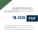 About Dena Bank
