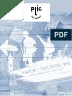 Rapport d'activités 2012 du PLIE du Pays de Brest