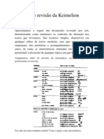 Modelo de revisão