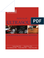 Ultrasound Scanning Manual