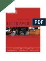 Ultrasound Scanning Manual