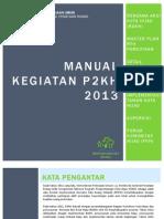 Manual P2KH 2013