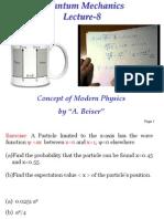 Particle in a 1d Box Quantum Mechanics