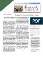 Calvary Chapel Newsletter July-August 2013