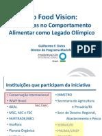 Guilherme Dutra, diretor do Programa Marinho da Conservação Internacional - Mudanças no comportamento alimentar como legado olímpico Rio Food Vision