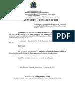 IFMG_Regimento Ensino 2012