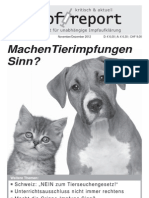 2013 02 02 Machen Tierimpfungen Sinn Auszug