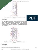 Tutorial AutoCAD Gambar Kerja Rumah Tinggal – Bagian 1 (Denah) - 3
