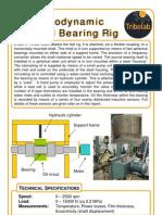Journal Bearing Rig
