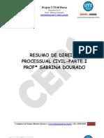 Direito Processual Civil - Sabrina Dourado