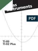 Manual[1] Calculadora Graficadora 89 Plus