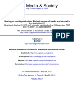 Hasinoff - Sexting as Media Production Rethinking Social Media and Sexuality