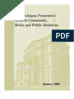 Michigan Ethics Mediaguide 3-10-1