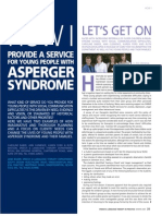 How I provide a service for young people with Asperger syndrome (1) – Let's get on