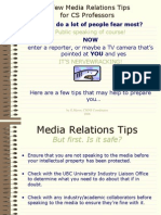 Media Tips and Tricks