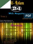 Al- Islam 24 Web Magazine: Issue 5