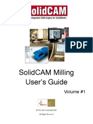 SolidCAM - Integrated CAM Engine for SolidWorks - Manual