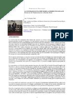 Conferencia de Fundacion a Rocha Peru