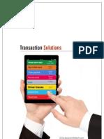 Transaction System Brochure