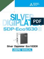 Users Manual SDP-Eco 1630III_GB