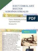 Empaques y Embalajes en Productos Agroindustriales