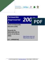 01 D.B. - Formacion Empresarial I