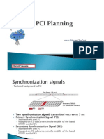 PCI Planning for LTE