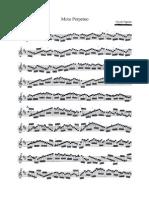Paganini, Niccolo - Moto Perpetuo