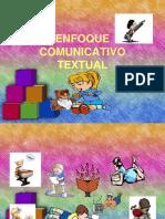 Ppt Enfoq Comunic Textual