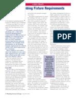 ASPE PSD - Minimum Plumbing Fixture Requirements