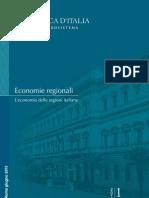 BANCA D'ITALIA - Giugno 2013. Economia Delle Regioni Italiane