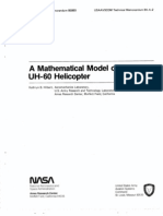 A Mathematical Model of the UH-60 Helicopter