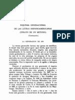 96076157 Esquema Generacional de Las Letras Hispanoamericanas Ensayo de Un Metodo Juan Jose Arrom